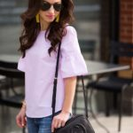 Orchid Bell Sleeve Top