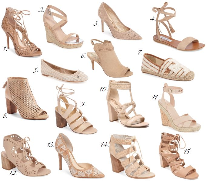 Nude Shoes Under $100
