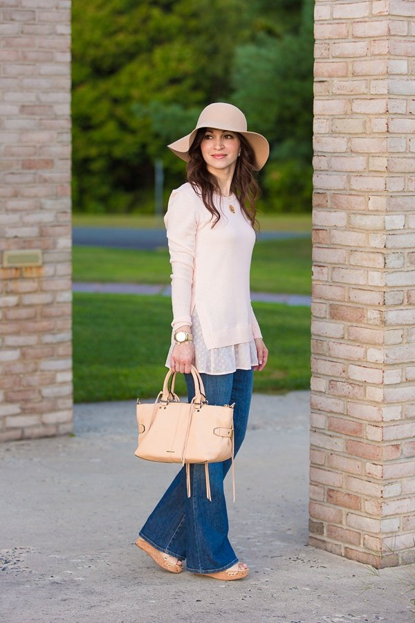 b7dcdd153be Floppy Hat   Powder Pink Sweater - Lipgloss   Labels