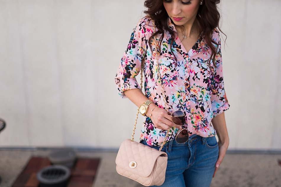 942572cf732079 Floral Portofino Shirt - Lipgloss & Labels