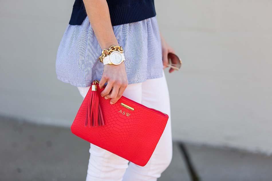 poppy clutch