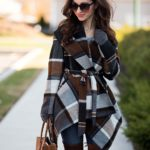 Prairie Check Rabato Coat