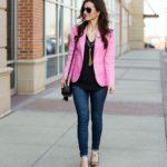 Pink Campbell Blazer