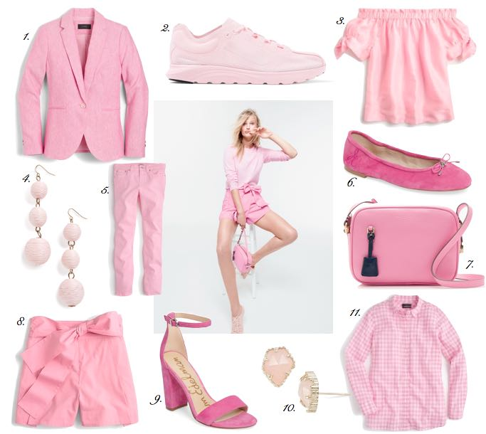 pink for spring