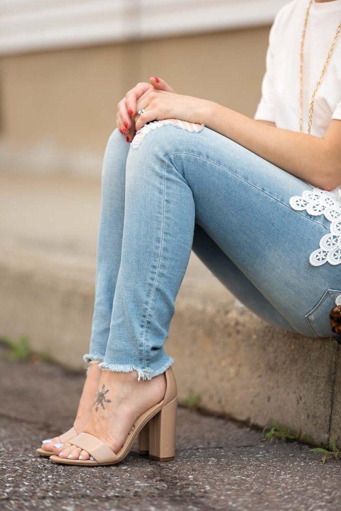 Sam Edelman nude sandals