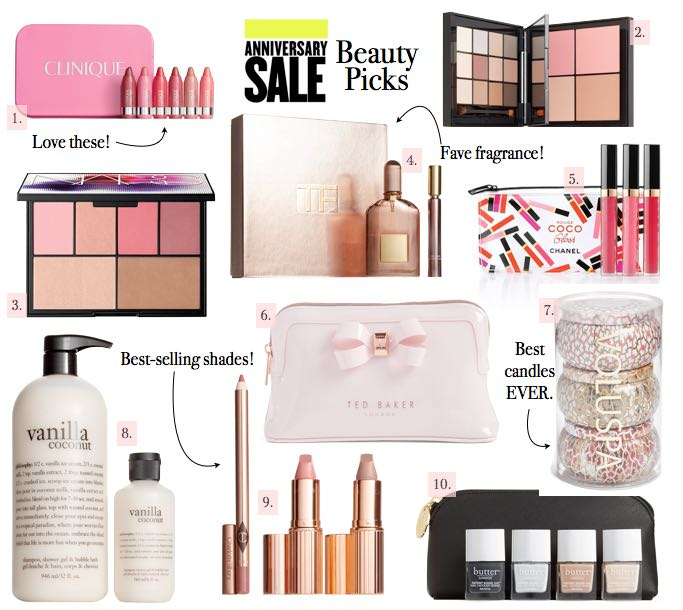Nordstrom Anniversary Sale Top 10 Beauty Picks