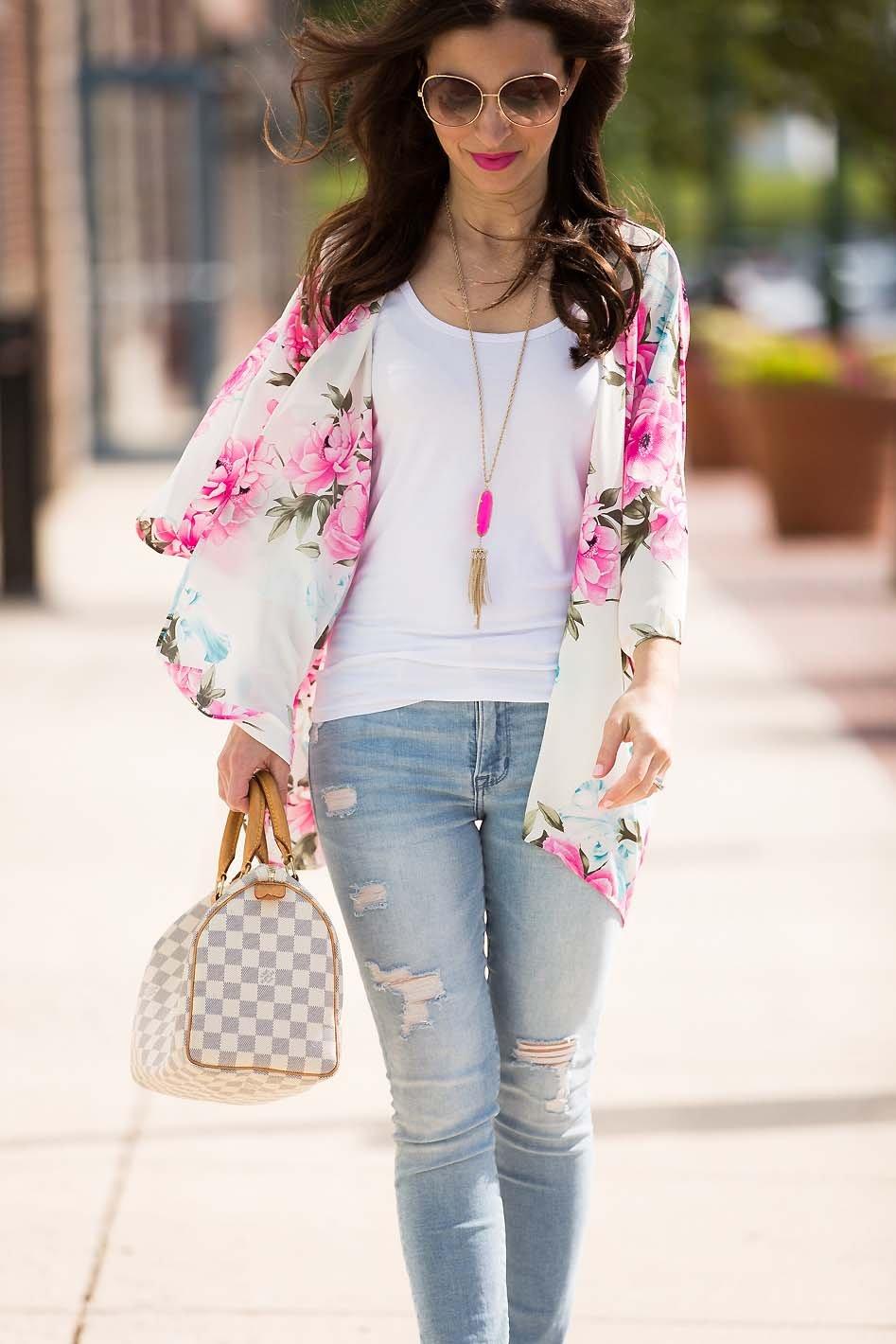 Floral Summer Kimono Lipgloss Amp Labels