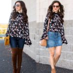 Bell Sleeve Floral Top / Styled 2 Ways