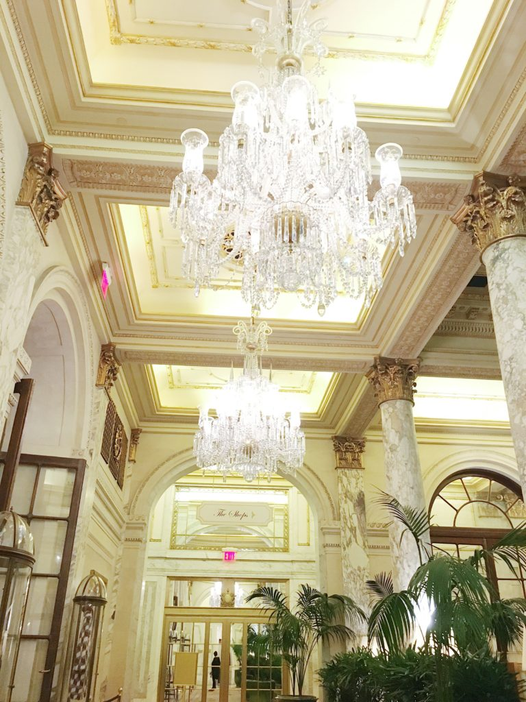 NYC girls trip recap The Plaza Hotel