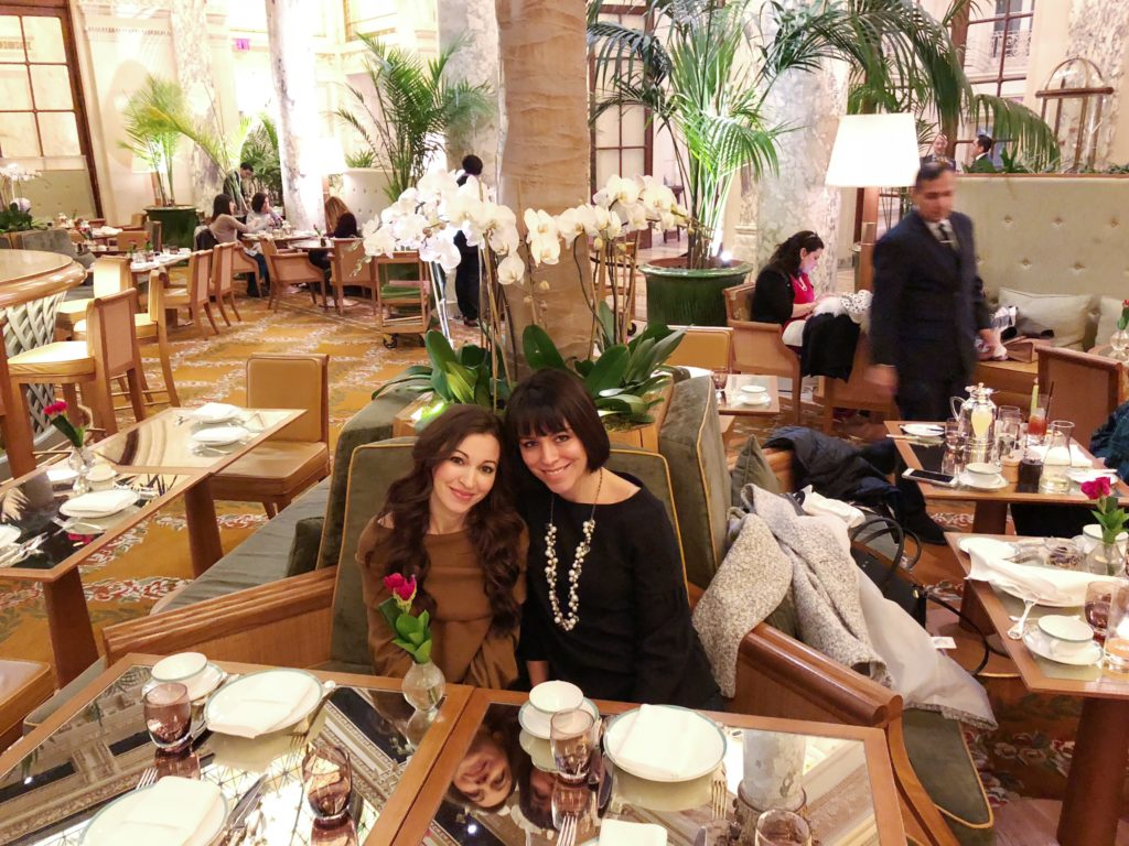 NYC girls trip recap The Plaza Palm Court