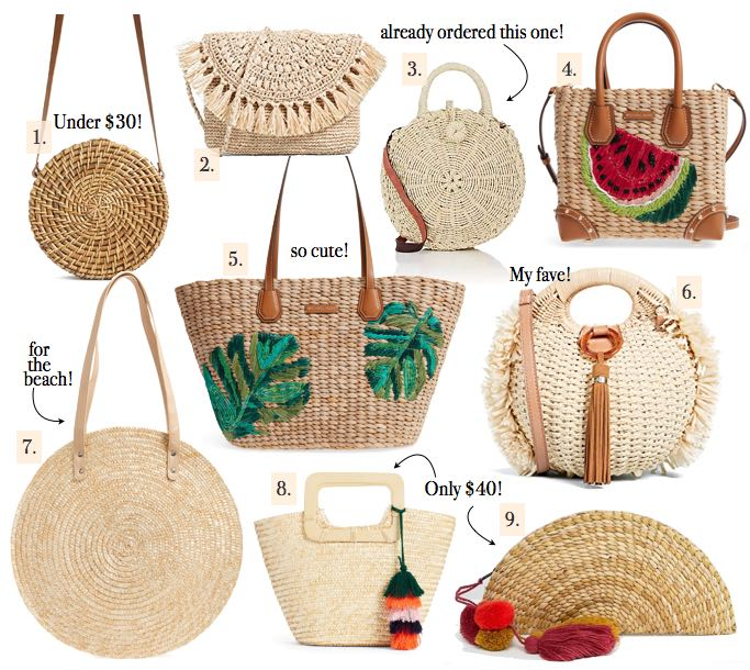 Straw Bags For Every Budget